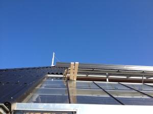 Babette op het dak. reddingsactie nummer 11