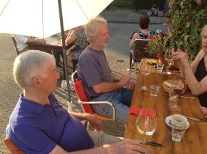 Etentje ter gelegenheid van Henks 91ste verjaardag in Pingnum