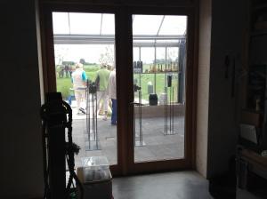 Mijn friese huisjes in het atelier. 1 verkocht aan Els.
