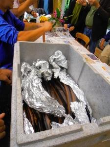 Sipke maakt de paling schoon